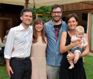 Le Presidenze (da sinistra): Jeremy & Marina, Andrea & Sabina + Ettore