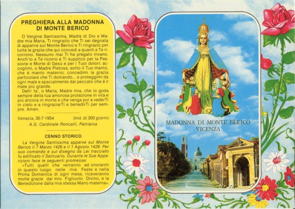 Cartolina di Monte Berico